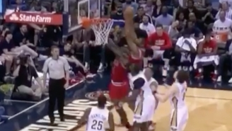 Cristiano Felicio Puts Kendrick Perkins' Box-Out Effort To Shame With A Put-Back Slam
