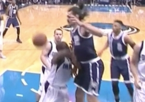 Raymond Felton Shows How Frustrating It Is To Fight Steven Adams For Rebounds