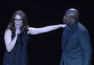 Tina Fey And Tituss Burgess Duetted To Help Ease The Wait For 'Unbreakable Kimmy Schmidt' Season 2