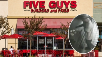 This Man Satisfied His Cravings By Breaking Into Five Guys And Whipping Up A Burger