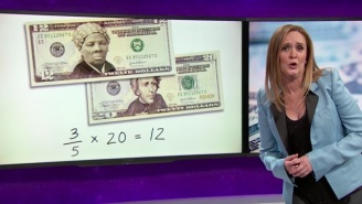 Samantha Bee Explains Why Harriet Tubman Is Better For The $20 Than 'Genocidal Pr*ck' Andrew Jackson