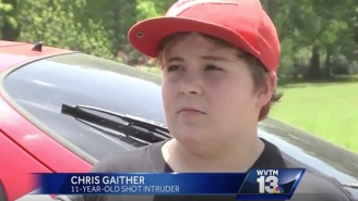 Watch This 11-Year-Old Calmly Explain How He Shot The Hell Out Of An Intruder Who Broke Into His House