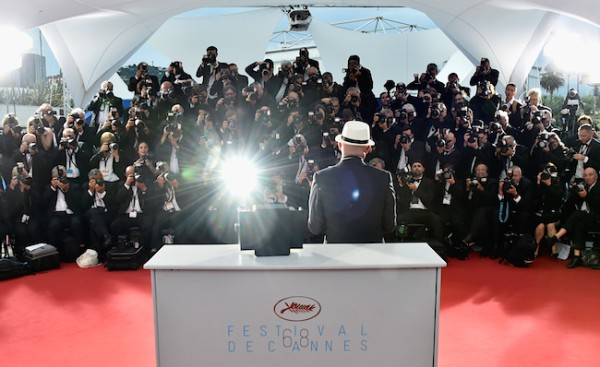 CANNES, FRANCE - MAY 24: Director Jacques Audiard, winner of the Palme d'Or for his film 'Dheepan' poses during a photocall for the winners of the Palm D'Or during the 68th annual Cannes Film Festival on May 24, 2015 in Cannes, France. (Photo by Pascal Le Segretain/Getty Images)