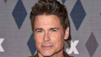 Rob Lowe Starts A Game Of Mad Libs When Asked About Partying With Charlie Sheen