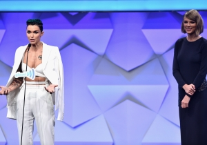 Taylor Swift Honored Ruby Rose At This Year's GLAAD Media Awards