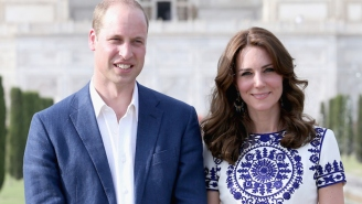 Prince William And Kate Middleton Recreate An Iconic Photo Of Princess Diana