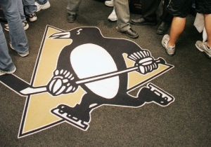 NHL Teams Are Still Freaking Out About People Stepping On Their Precious Logos