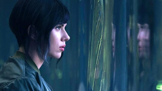 Here's our first look at Scarlett Johansson in 'Ghost in the Shell'