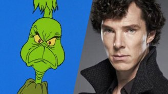 Benedict Cumberbatch Set to Voice The Grinch In New Animated Version Of 'How The Grinch Stole Christmas'