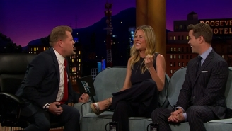 Gwyneth Paltrow Mouth-Sang An AC/DC Guitar Solo And Is Basically Axl Rose Now