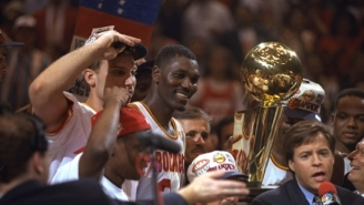 Kenny Smith Believes The Rockets Would've Beaten The 1994 Bulls 'Easily' Even With Michael Jordan