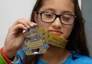 A 12-Year-Old Girl Set Out To Run A Five K And Ran A Half Marathon By Mistake