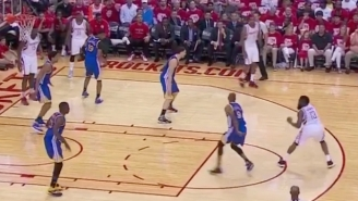 James Harden Spun Andre Iguodala Like A Top With This Dirty Crossover And Step-Back Jumper