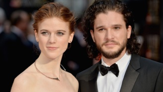 Kit Harington And Rose Leslie Finally Make Their Red Carpet Debut As A Couple