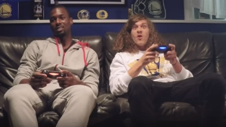 Harrison Barnes' 'NBA 2K' Challenge Was Met By Some Unexpected Guests