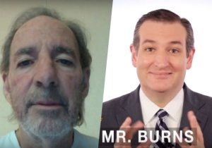 Harry Shearer Debuts His Impression Of 'Simpsons' Fan And 'Sniveling Hero' Ted Cruz