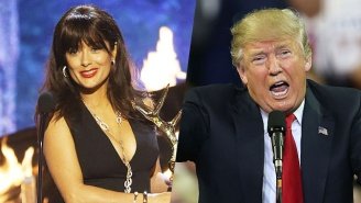 Did Salma Hayek Drop The Ultimate Trump Burn Over The 7-11 Mix-Up?