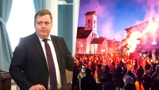 The 'Panama Papers' Fallout Spawns Fiery Protests To Oust The Icelandic Prime Minister