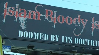 An Anti-Islamic Billboard In Florida Prompts Backlash And Cries For Removal