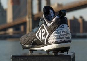Adidas Is Dropping A Special Edition Cleat To Honor Jackie Robinson Day
