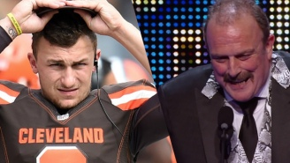 Jake 'The Snake' Roberts Is Still Trying To Help Johnny Manziel Turn His Life Around