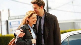 Jim and Pam Reunited On Social Media, Sending 'Office' Fans' Hearts Aflutter