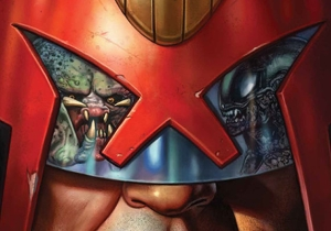 Judge Dredd Will Take On Aliens And Predators In An Upcoming Comic Crossover Showdown