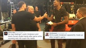 Kevin Durant Made Up With Justin Anderson As An ESPN Employee Gets Called Out