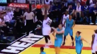 Justise Winslow Submitted His Entry For Shaqtin-A-Fool With This Botched Dunk Attempt