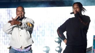 Watch As Kanye West Crashes A$AP Rocky's Set At Coachella