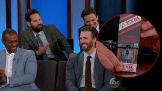 #TeamCap Showed Up To Talk 'Civil War' With Jimmy Kimmel And Make Fun Of Paul Rudd