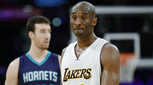brand new cb368 c70e5 Kobe Bryant Is Still Pissed At The Hornets For Trading Him