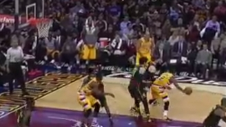 How Many Ball Fakes Did Kyrie Irving Throw On The Hawks Before Draining This Spectacular Jumper?