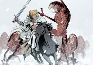 'Scott Pilgrim' colorist-turned-writer launches aliens vs. crusaders comic