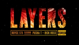 Royce 5'9″ ft. Pusha T & Rick Ross – Layers