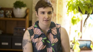 Lena Dunham Went Full-On 'Basic Instinct' With A Specific Nude Scene On This Season Of 'Girls'