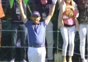 Louis Oosthuizen Used An Opponent's Ball To Sink An Incredible Hole-In-One At The Masters