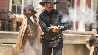 'Magnificent Seven' trailer shows off gunslinging Chris Pratt and Denzel Washington