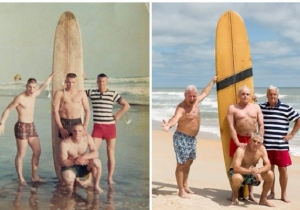 This Group Of Marines Touchingly Recreated A Photo From 50 Years Ago