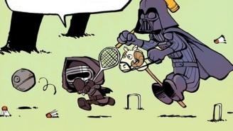 'Calvin And Hobbes' And 'Star Wars: The Force Awakens' Continue To Be A Perfectly Adorable Pairing