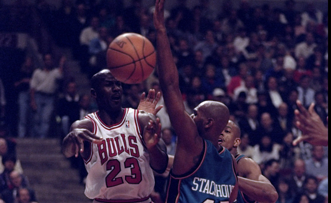 michael jordan, jerry stackhouse