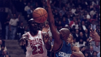 The Time Michael Jordan Sang Some Anita Baker To Mess With Jerry Stackhouse