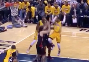 Monta Ellis' Behind-Head Pass To Ian Mahinmi Might Be The Dime Of The Playoffs