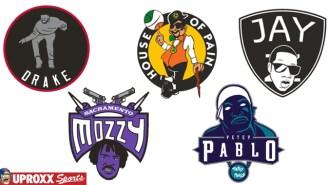 NBA Logos Redesigned As Hip-Hop Artists