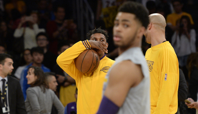 nick young, d'angelo russell