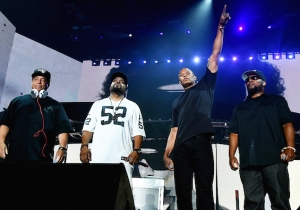 Ice Cube Brings Out N.W.A. And Kendrick Lamar In A Cameo-Packed Coachella Performance