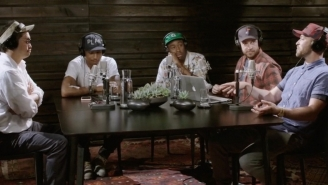 Justin Timberlake And Pharrell Talked About New Music And Making 'Justified' On Beats 1