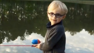 Chris Pratt Shared A Perfect Father-Son Moment Fishing With His Boy This Weekend
