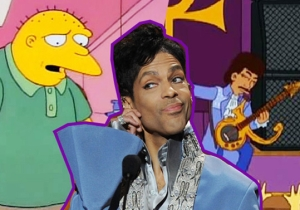 'The Simpsons' Attempted To Have Prince Guest Star In A Very Familiar Role