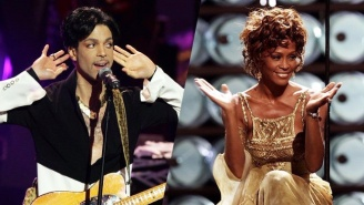 Take In The Surreal Sight Of Whitney Houston And Bobbi Kristina Dancing At A Prince Concert